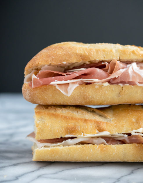 Paris Meets Parma Sandwich