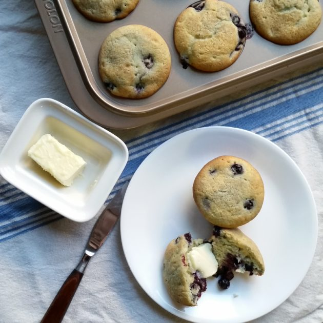 Barefoot Contessa Blueberry Coffee Cake Muffins