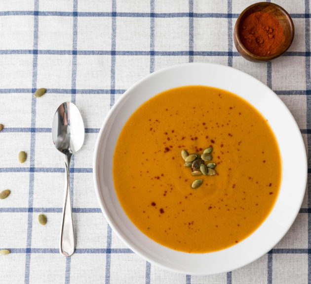 Berbere Lentil and Carrot Soup
