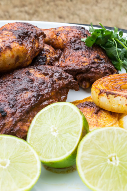 Mexican Achiote Roast Chicken