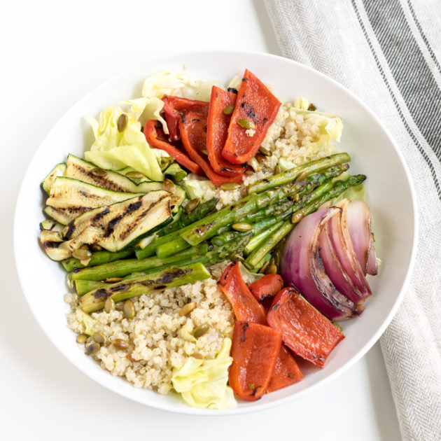 Grilled Vegetable and Quinoa Salad
