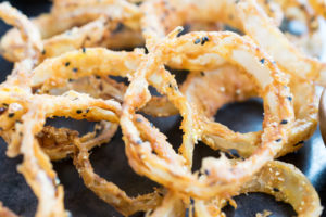 Nigella Seed Onion Rings