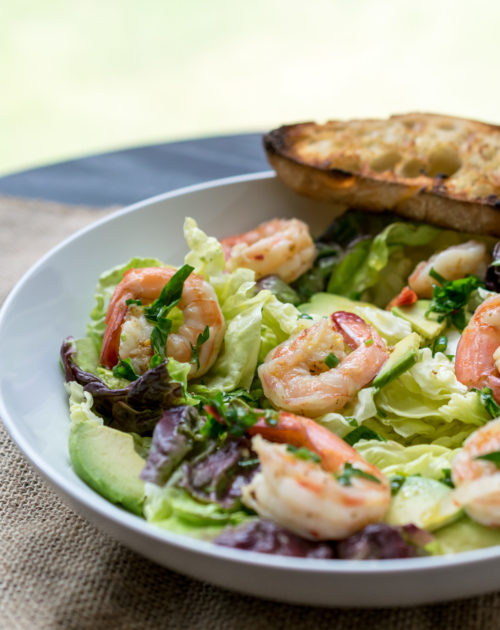 Pickled Shrimp & Avocado Salad