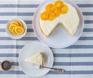 Lemon Poppy Seed Cake