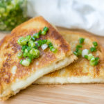 Grilled Cheese with Pickled Scallions
