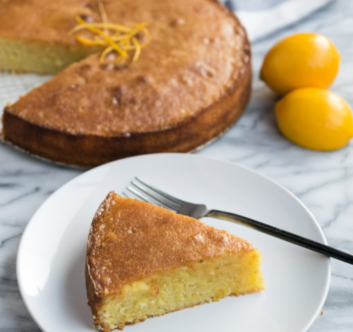 Meyer Lemon and Almond Cake