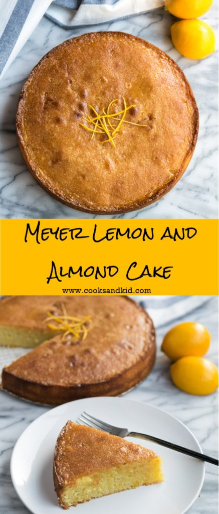 Meyer Lemon Almond Cake