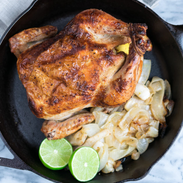 Roasted Mojo Chicken