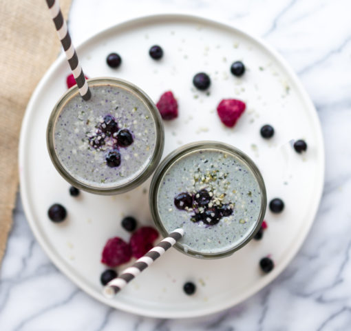Breakfast Smoothies (Vegan and Non-Vegan)