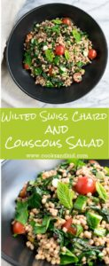 Wilted Swiss Chard and Couscous Salad