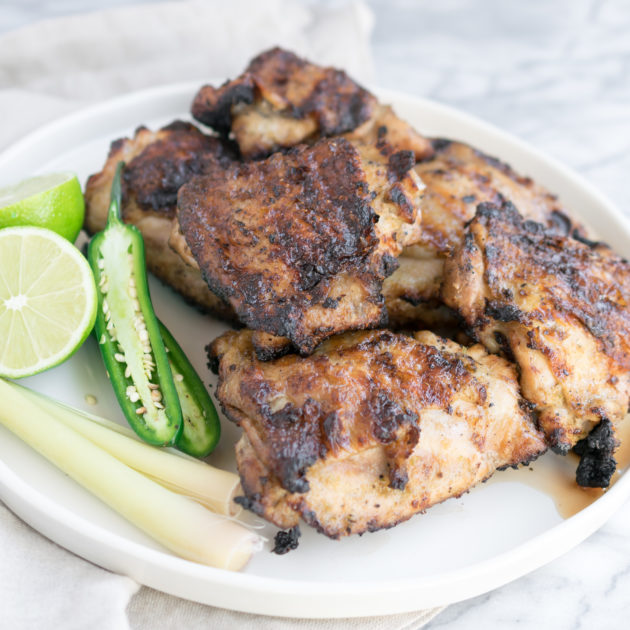 Spicy Lemongrass Grilled Chicken