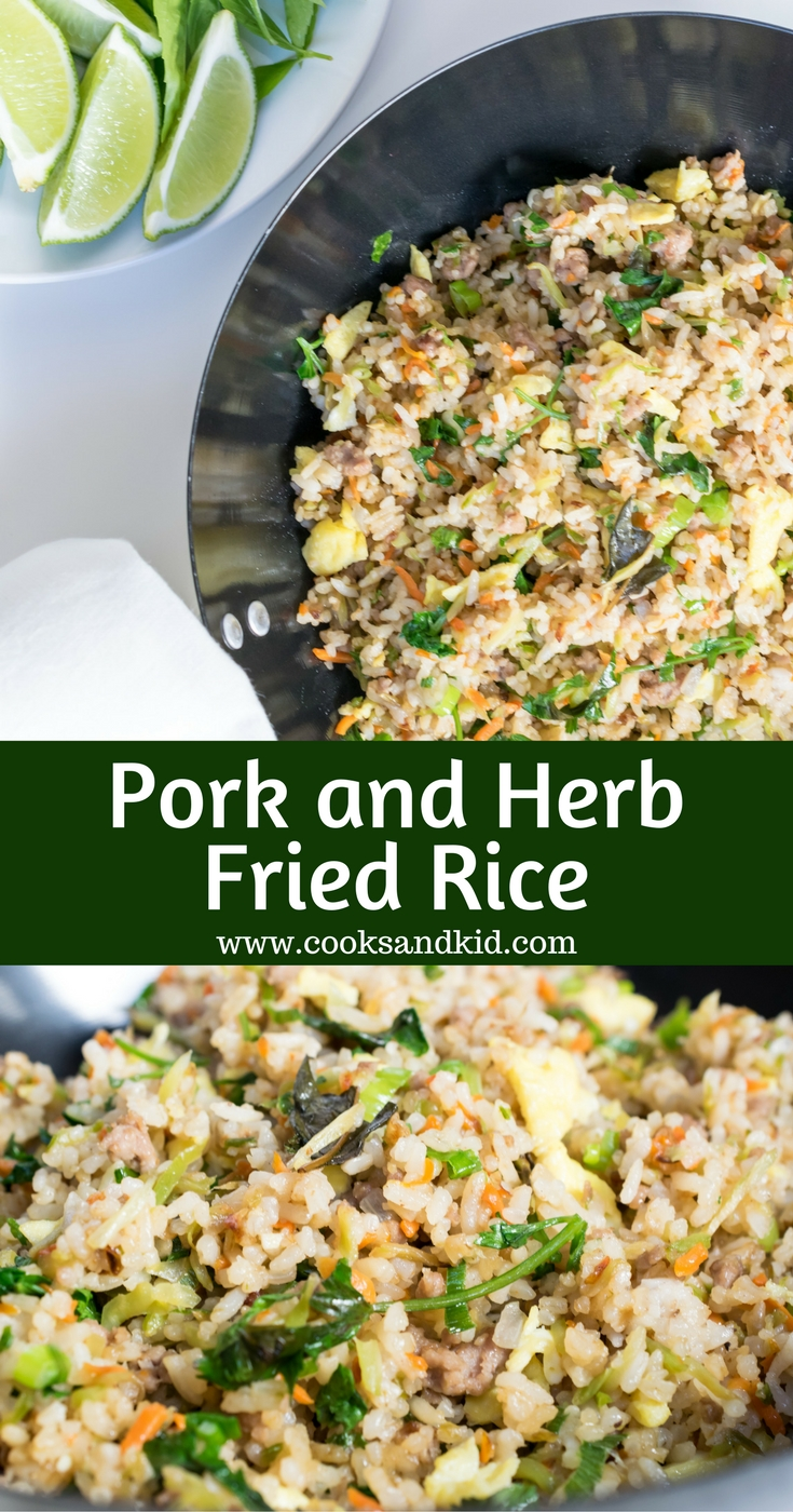 herb fired rice