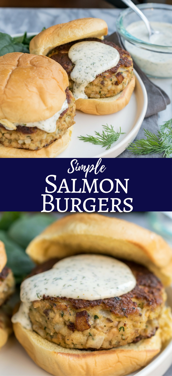 Salmon Burgers with Lemon and Dill Mayo - Recipe by Cooks ...