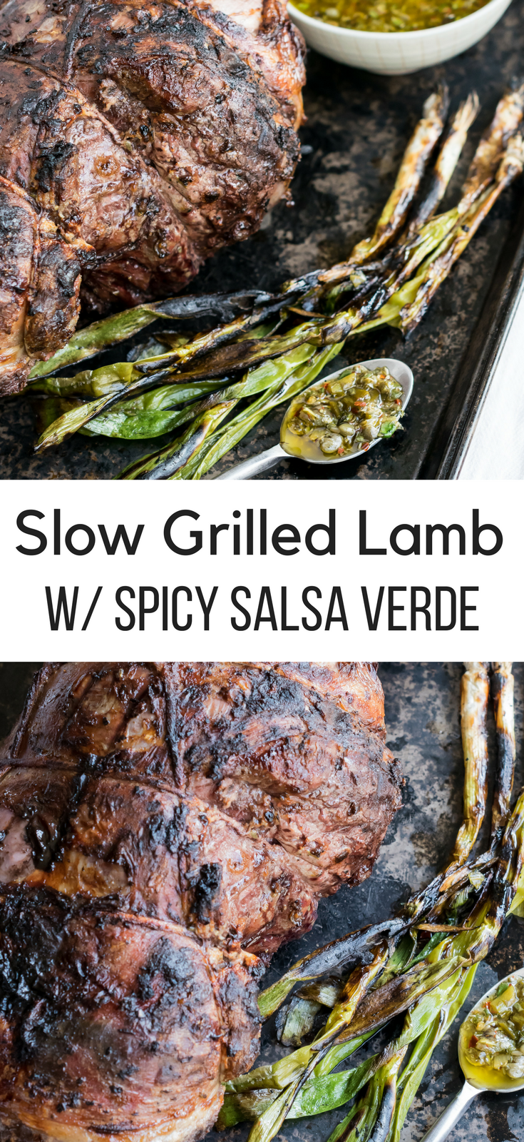 Slow Grilled Lamb
